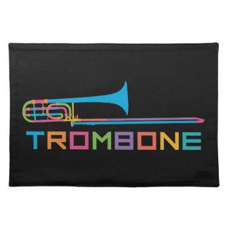 Rainbow Color Trombone Placemat