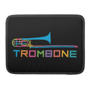 Rainbow Color Trombone Sleeve For MacBook Pro