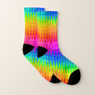 Rainbow Color Waves Pattern 1
