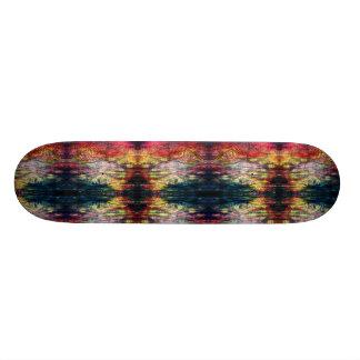 Rainbow Color Wood-print Skateboard Decks