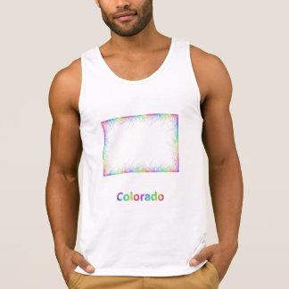 Rainbow Colorado map
