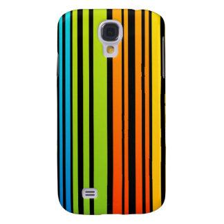 Rainbow colored bar code