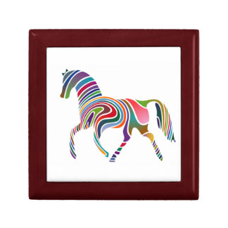 Rainbow-Colored Horse Gift Box