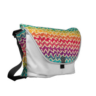 Rainbow Colored Messenger Bag