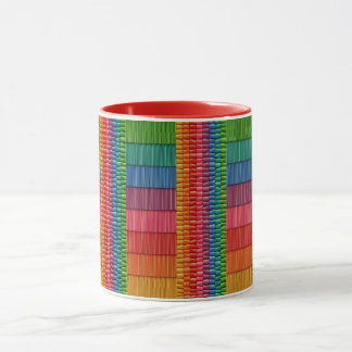 Rainbow Colorful Two-Tone Mug