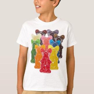 rainbow colors candy lover gummy bear T-Shirt