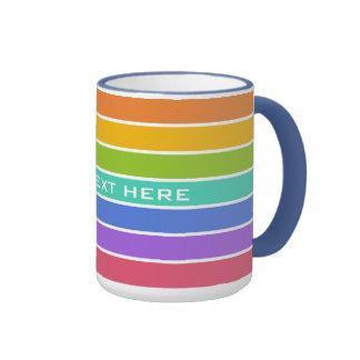 Rainbow Colors custom mugs
