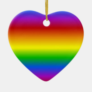 Rainbow Colors custom ornament