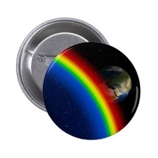 Rainbow Colors Destiny Stars Space World Button