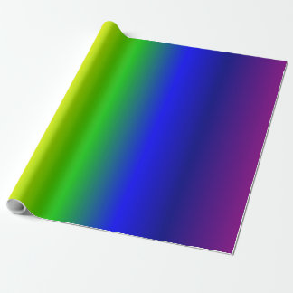 Rainbow Colors Gradient Wrapping Paper