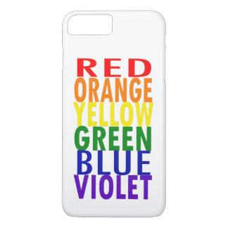 Rainbow Colors iPhone 8 Plus/7 Plus Case