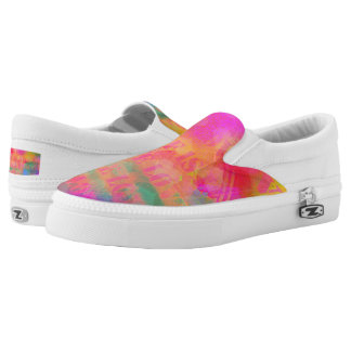 Rainbow Colors Love Is Love Pattern Slip-On Sneakers