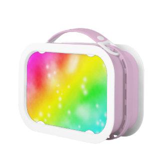 RAINBOW COLORS LUNCH BOX