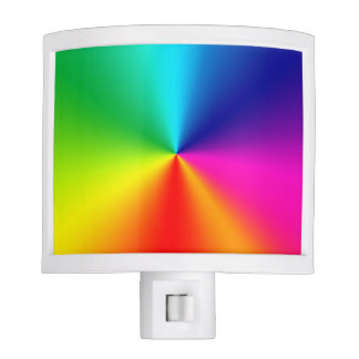 Rainbow colors night lite
