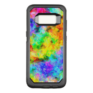 Rainbow Colors Oil Paint OtterBox Commuter Samsung Galaxy S8 Case