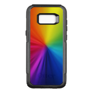Rainbow Colors OtterBox Commuter Samsung Galaxy S8+ Case