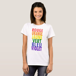 Rainbow Colors T-shirt (French)
