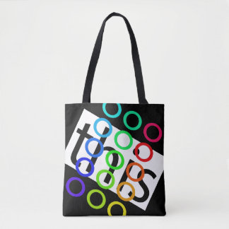Rainbow Colors THIS PRIDE Beach Concert Bags