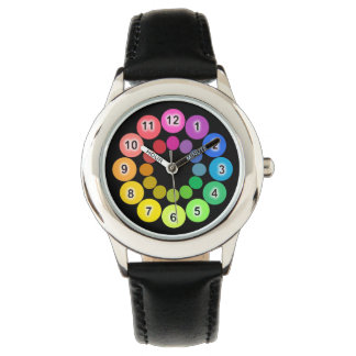 Rainbow Colors Wrist Watches