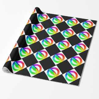 Rainbow Colorwheel Spectrum Colors Giftwrap Wrapping Paper