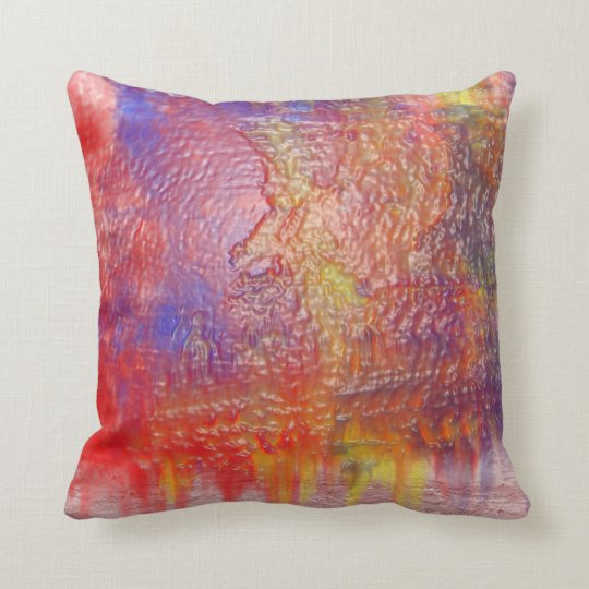 Rainbow Colour Design Pillow