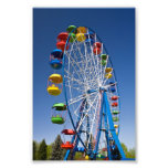 Rainbow Coloured Ferris Wheel