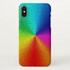 rainbow colours design iPhone x case