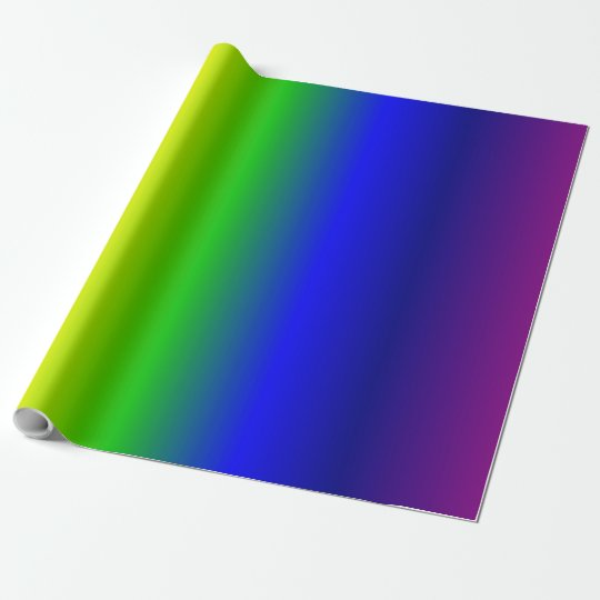 Rainbow Colours Gradient Wrapping Paper