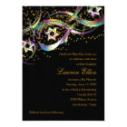 Rainbow Colours Stars Flourish Gold Confetti Card