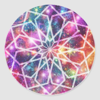 Rainbow Cosmos Sticker