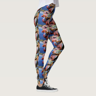 Rainbow Crab legs Leggings