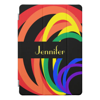 Rainbow Crescent Pattern 10.5 iPad Pro Case