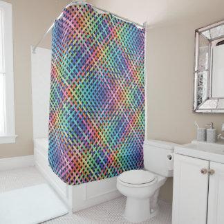 Rainbow Crossed Pattern