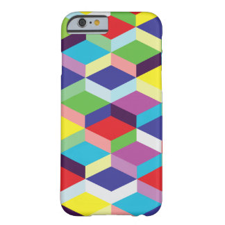Rainbow Cube Pattern Barely There iPhone 6 Case