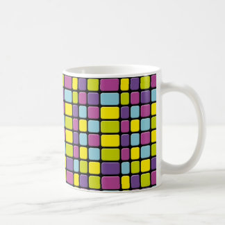 Rainbow Cubes Coffee Mug