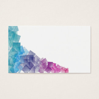 Rainbow Cubism Business Card
