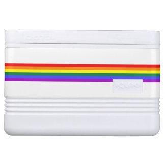Rainbow custom cooler