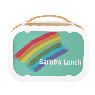 Rainbow Custom Lunch Box for Kids