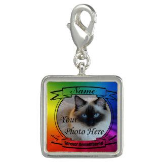 Rainbow Custom Memorial - Forever Remembered Charm