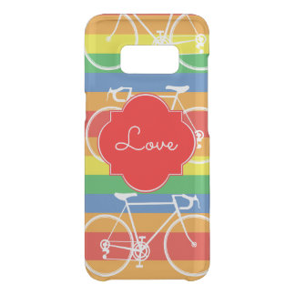 Rainbow cycle for Love Uncommon Samsung Galaxy S8 Case