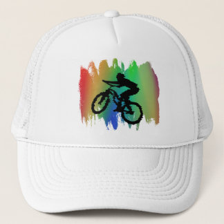 Rainbow Cycling Hat
