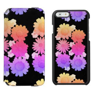 Rainbow Daisy Flowers Artsy Photography Incipio Watson™ iPhone 6 Wallet Case