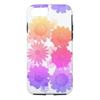 Rainbow Daisy Flowers Artsy Photography iPhone 8/7 Case