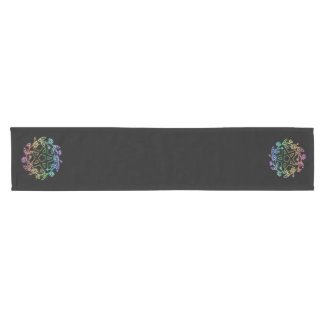 Rainbow Daisy Pentacle Altar Cloth