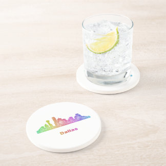 Rainbow Dallas skyline Coaster
