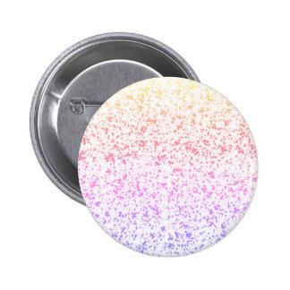 Rainbow Dalmatian Button