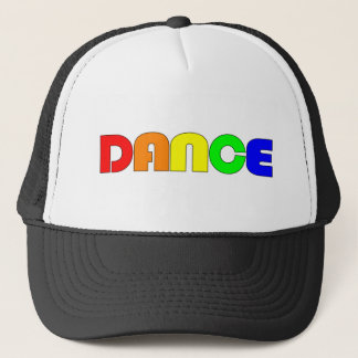 Rainbow Dance Trucker Hat
