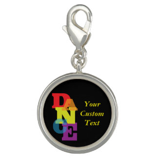 Rainbow Dance Vertical Photo Charms