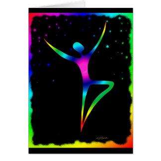 Rainbow Dancer 1 Card