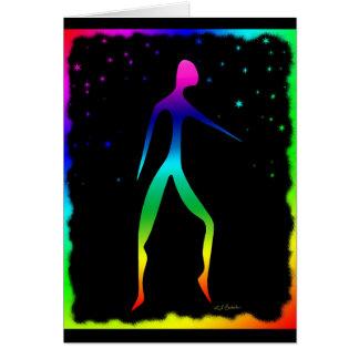 Rainbow Dancer 2 Card